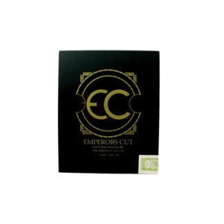 black square cigar box cover with Emperors Cut logo