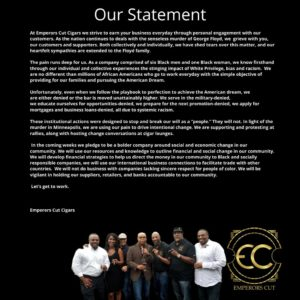 our statement